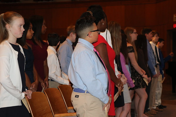 2-5-19 NJHS induction