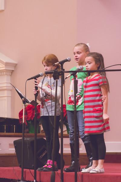 PreSchool Choir Christmas Musical