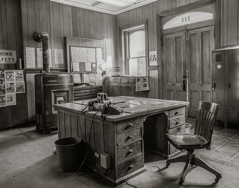 Old Railroad Station Office