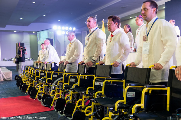 Distribution at KofC Philippine National Convention