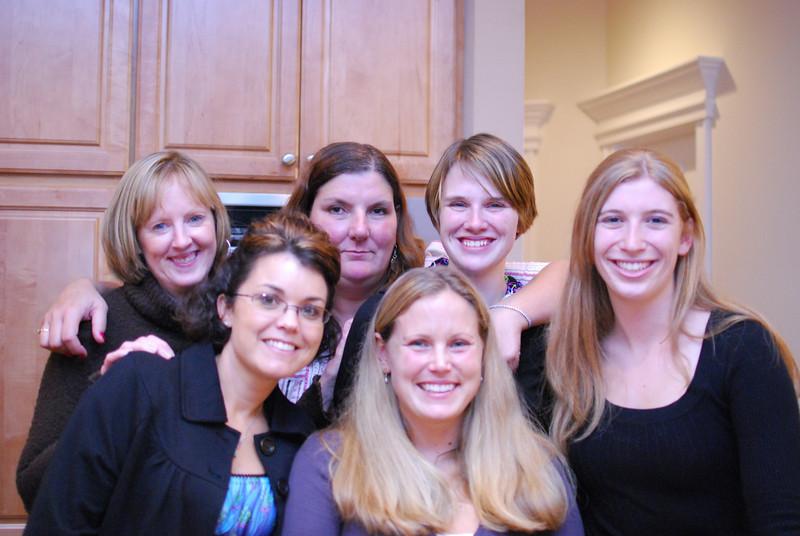 Kathy, Reg, Kate, Kathleen, Melissa and Kristen