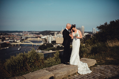Paula + AJ Mt Washington Micro Wedding