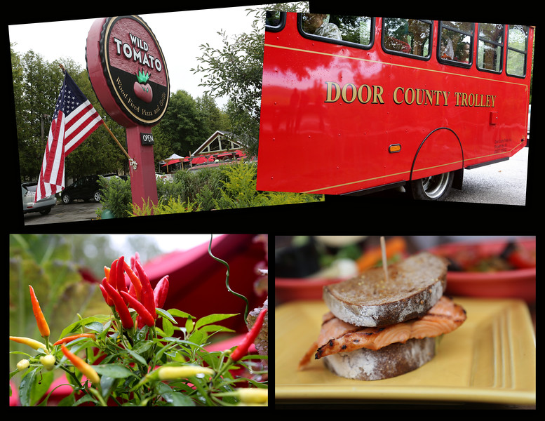 Door County reds...from Trolley to Tomatoes.