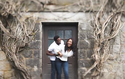 Kemi & Simeon - #TheKESWedding | Engagement  Shoot - Victoria BC