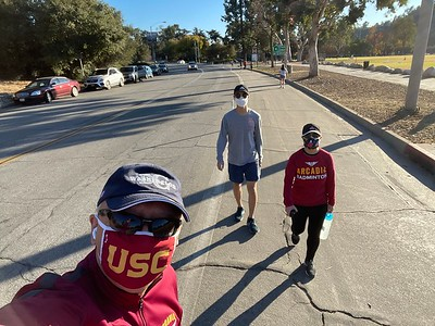 20201220 Walking Around Rose Bowl
