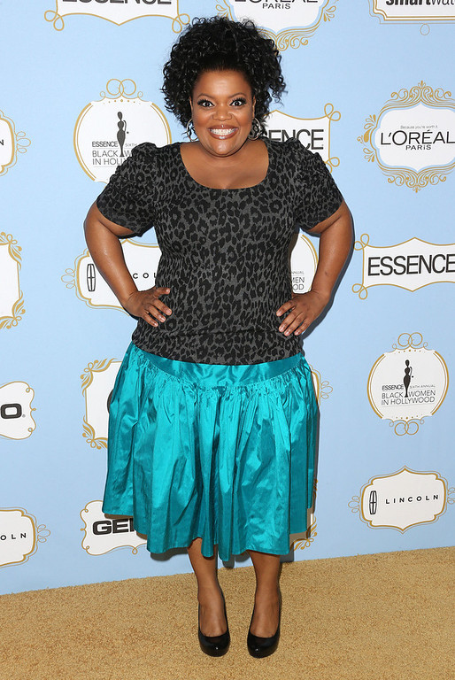 . Actress Yvette Nicole Brown attends the Sixth Annual ESSENCE Black Women In Hollywood Awards Luncheon at the Beverly Hills Hotel on February 21, 2013 in Beverly Hills, California.  (Photo by Frederick M. Brown/Getty Images)