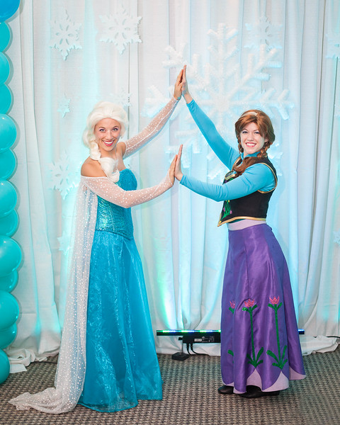 Elsa, Anna & Olaf's frozen adventure to the Hilbert Circle Theatre in Indianapolis, Indiana.