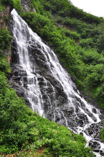 Horsetail Falls - Valdez, Alaska