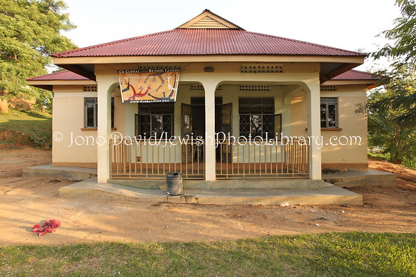 UGANDA, Mbale District, Nabugoye Village. Guest House. Abayudaya Jews. (8.2013)