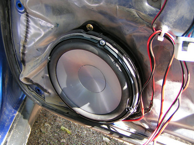 2002 Subaru Impreza WRX Front Door Speaker Installation