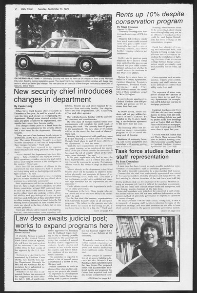 Daily Trojan, Vol. 87, No. 1, September 11, 1979
