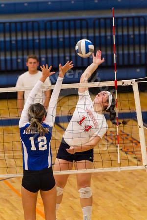 Wheaton College Volleyball vs Millikin