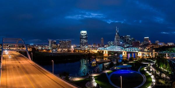 Nashville Skyline Photo