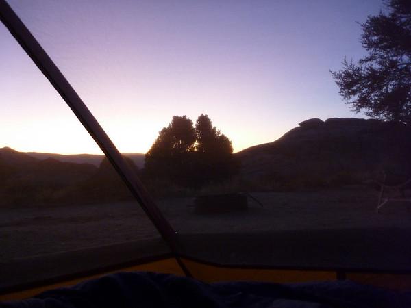 Moto Camping Familia Canyon Ganza