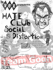 Hate Club - Social Distortion - at The Vex - Los Angeles, CA