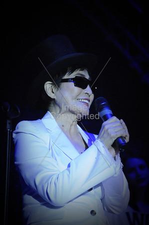 Yoko Ono &  Plastic Ono Band,  New Years Freakout 5. Dec.31,2011. Oklahoma City, Oklahoma.