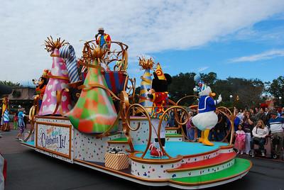 Christmas week at Magic Kingdom 2009