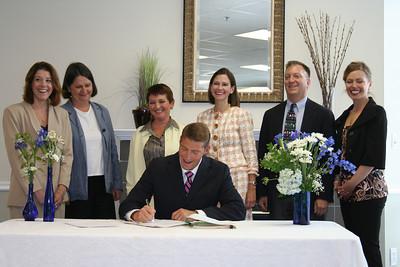 2007 Somerset Signing