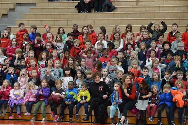 5th Grade vs Teachers Basketball Game (3/23/18)