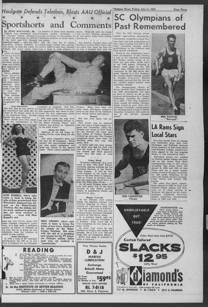 Summer News, Vol. 7, No. 5, July 11, 1952