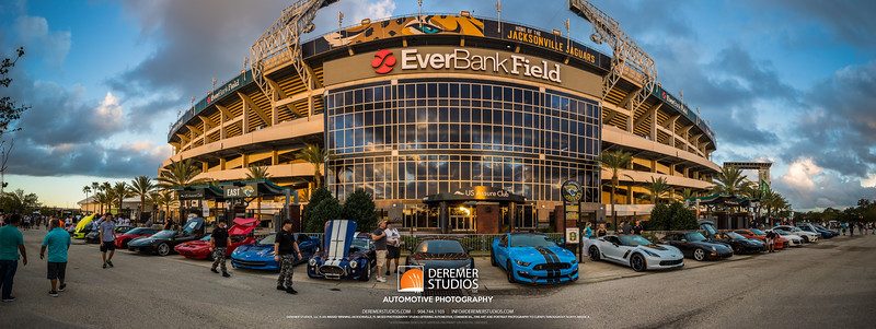 PANO 2017 10 Cars and Coffee - Everbank Field 111A - Deremer Studios LLC