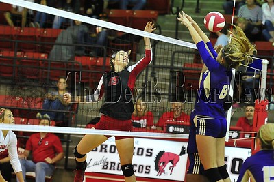 2016 Lady BRONCOS Volleyball Aug 12 Scrimmage