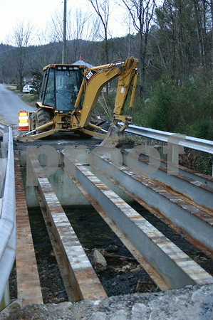 Bridge Construction - February 2006
