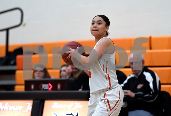 12/12/2017 Mike Orazzi | Staff Terryville's Jackie Johnson (5) during Tuesday night's girl's basketball game with Shepaug.