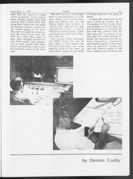 SoCal, Vol. 87, No. 35A, November 05, 1979