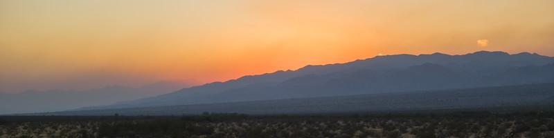 Chiriaco Summit, CA Sunset