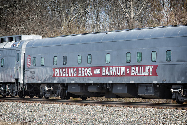 Ringling Brothers Train