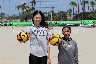Naval Cadet volleyball players 5-22-21