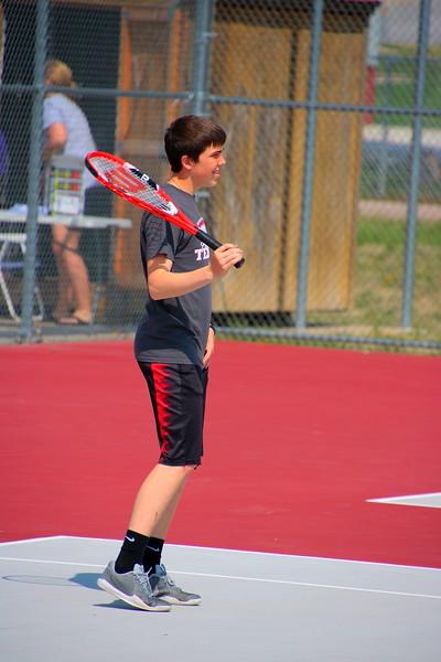 WMS 7/8 Boys Tennis 042418