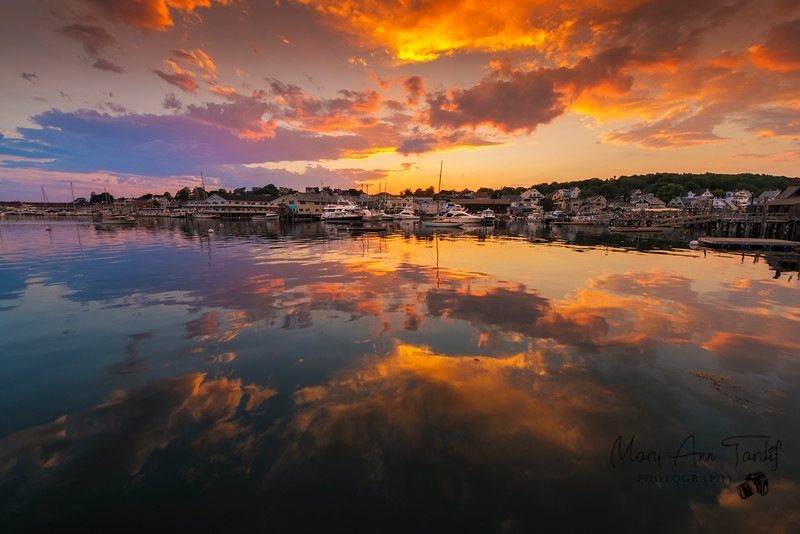 Day is Done, Boothbay Harbor