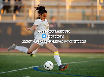 11/8/2018 - Girls Varsity Soccer - MIAA D4 North Semifinal - Amesbury vs St. Mary's