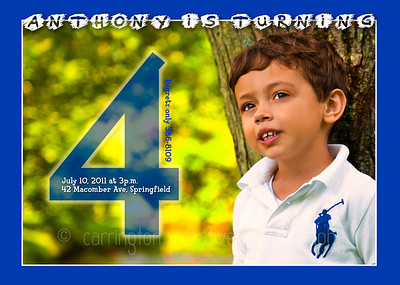 Anthonys Birthday Card Designs
