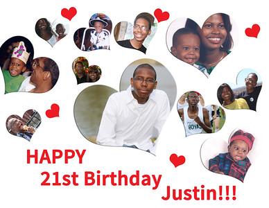 Justin 21st Bday