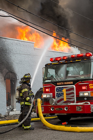 North Bergen NJ, 5th alarm, 1231 Kennedy Blvd. 12-21-16