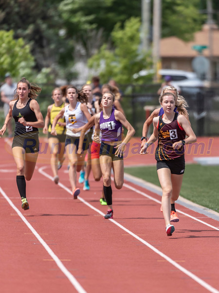 800 Meters Girls Gallery 1 - 2021 MHSAA LP T&F Finals - DIVISION ONE