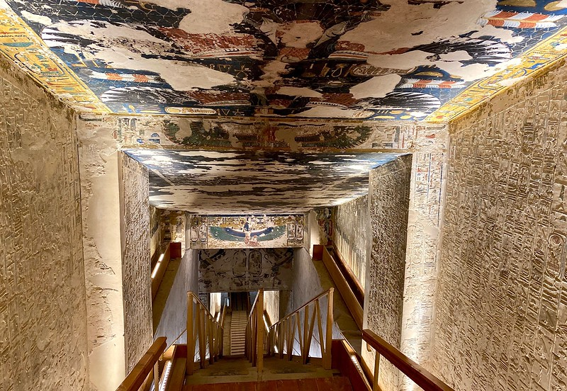 Tomb of Seti I - reigned 1290–1279 BC