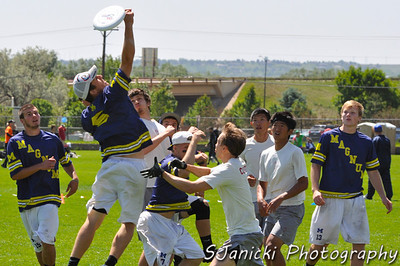 Ultimate Frisbee DI College Championship 2012