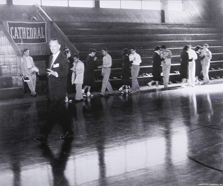 1957, Loretto at Cathedral