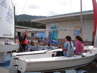 2011-05-16: Ocean's Week at Farallone Elementary School