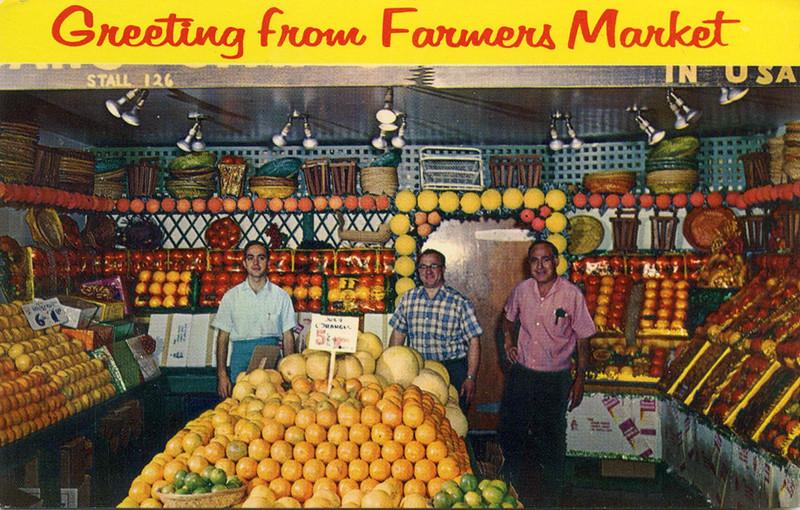 Farmers' Market Stall 126