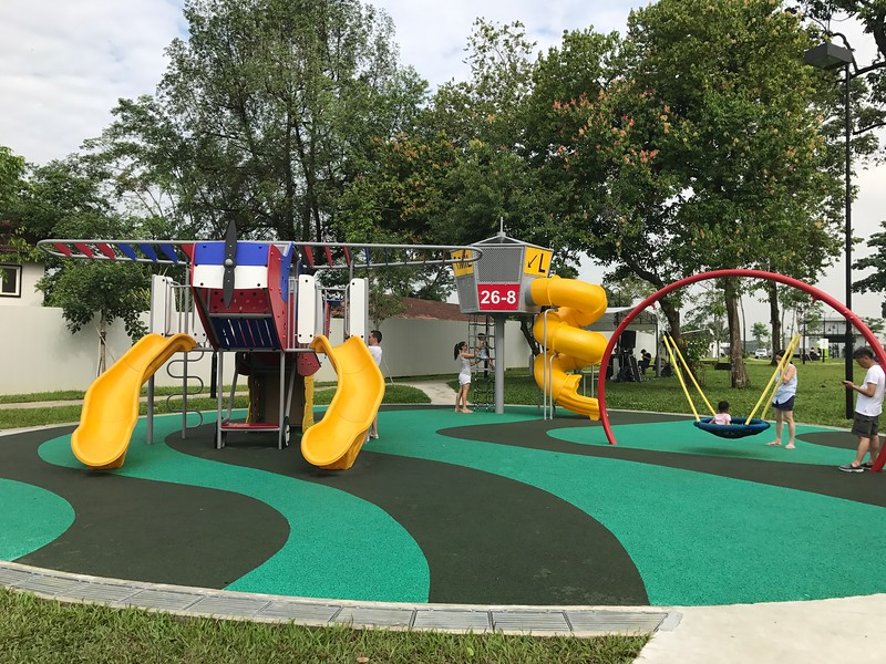 Seletar Aerospace Park playground
