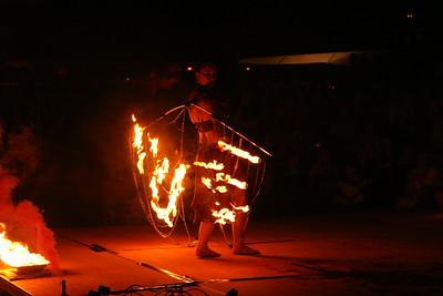 Vuurshow Castlefest 1 augustus 2008