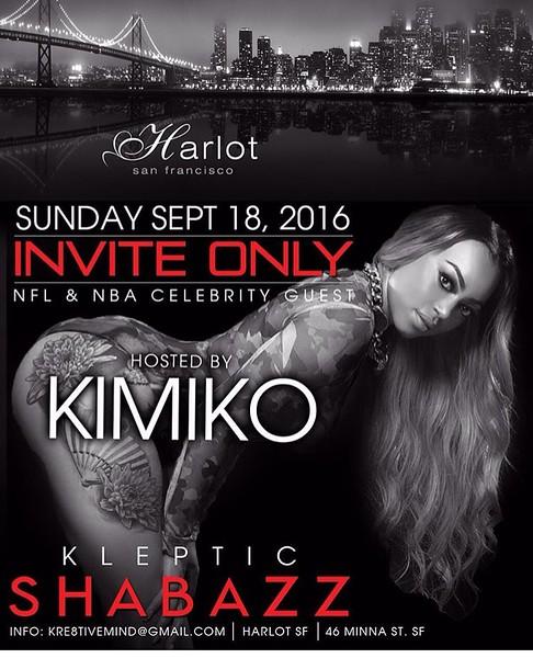 HarlotSF InviteOnly 9.18.16