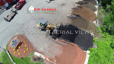 Aerial Views of D.R. Charles Lawn and Garden Center (Monroe, CT)