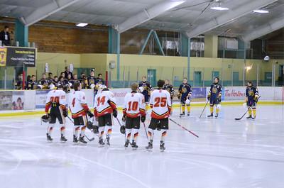 AMHL Flames v. St. Albert Raiders October 18, 2015