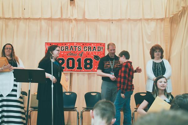 Josiah 5th grade graduation